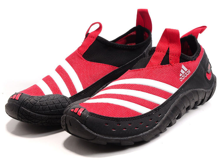 Men\'s Adidas Originals Jawpaw II Water Outdoor Running Shoes Hyper Red/Black V23075