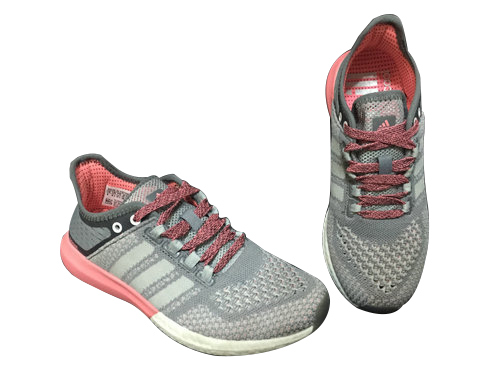 Women\'s Running Climachill Cosmic Boost Shoes Grey/Light Grey B44501