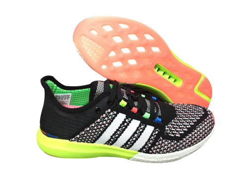 Women\'s Running Climachill Cosmic Boost Shoes Core Black/Running White/Solar Blue B34374
