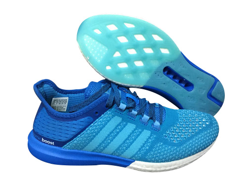 Men's Running Climachill Cosmic Boost Shoes Solar Blue/ Solar Blue/Core Black B44080