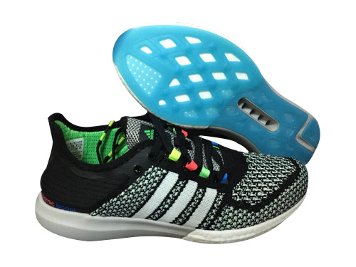 Men's Running Climachill Cosmic Boost Shoes Core Black/Running White/Solar Blue B34373