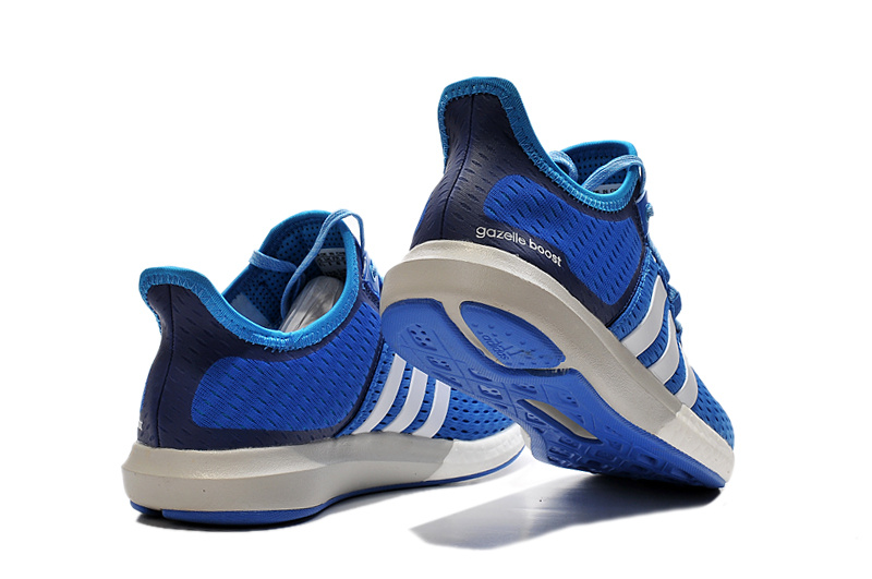 Men\'s Running Climachill Ride Boost Shoes Bright Royal/Ftwr White/Solar Blue S77242