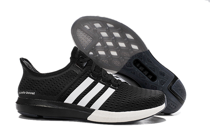 Men's/Women's Running Climachill Ride Boost Shoes Black/White