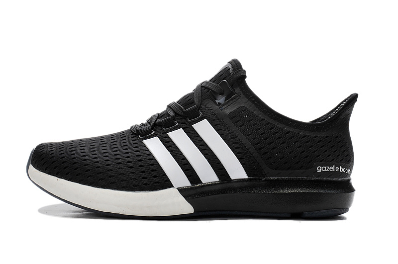 Men\'s/Women\'s Running Climachill Ride Boost Shoes Black/White