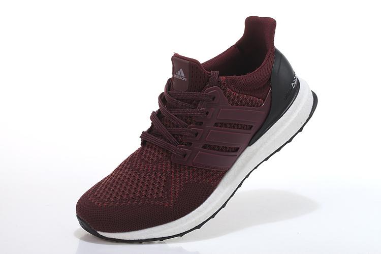 c90bb4e84f8e ... Men  s Women  s Adidas Running Ultra Boost Shoes Burgundy  ...