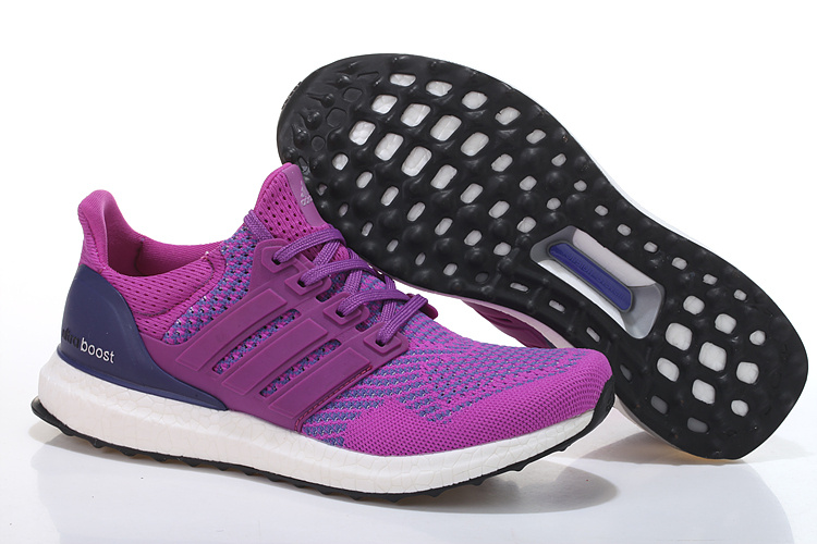 Men's/Women's Adidas Running Ultra Boost Shoes Plum/Violet