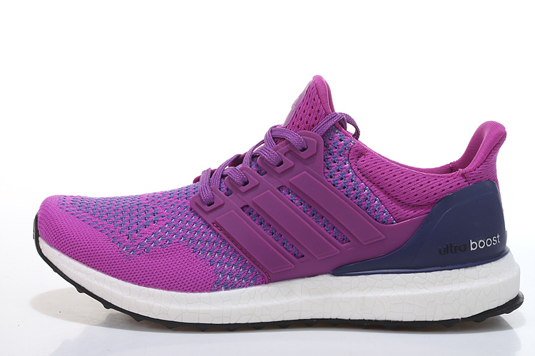Men\'s/Women\'s Adidas Running Ultra Boost Shoes Plum/Violet