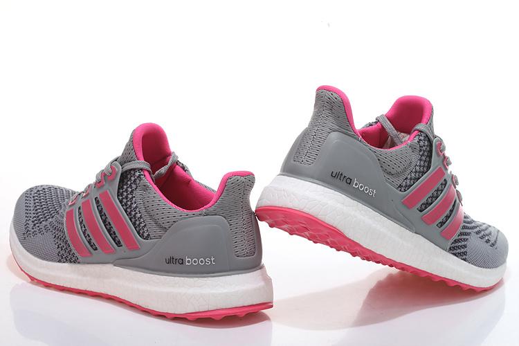 e3282bb0a22 ... Men  s Women  s Adidas Running Ultra Boost Shoes Metallic Grey ...