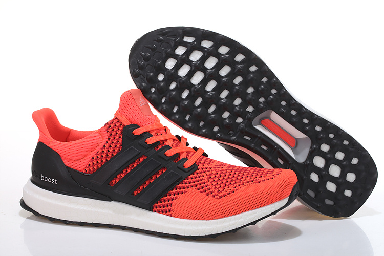 Men's/Women's Adidas Running Ultra Boost Shoes Solar Red B34050