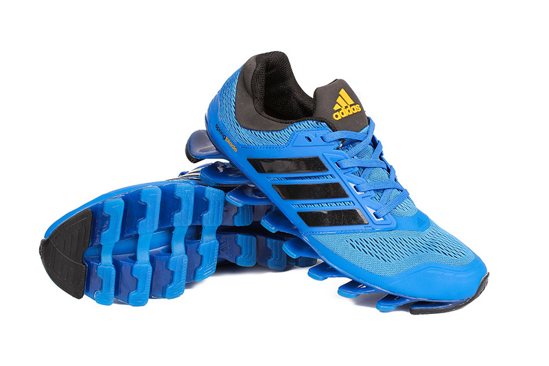 Men\'s/Women\'s Adidas Springblade 3.0 Running Shoes Blue/Black