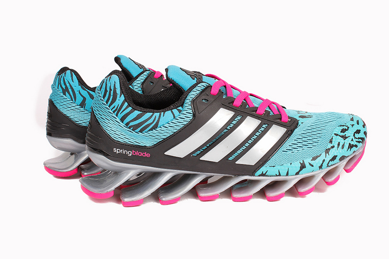Men\'s/Women\'s Adidas Springblade 3.0 Running Shoes Mint/Black/Rose