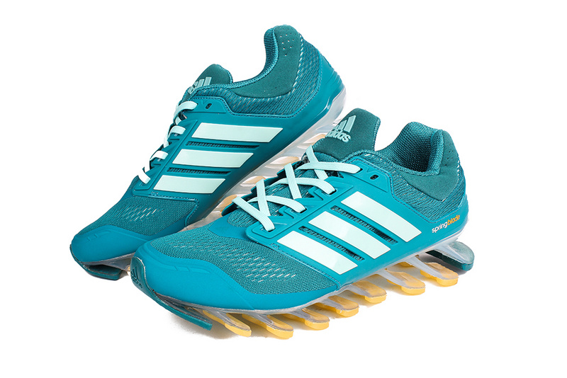 Men\'s/Women\'s Adidas Springblade 3.0 Running Shoes Ink Green/New Jade/Yellow