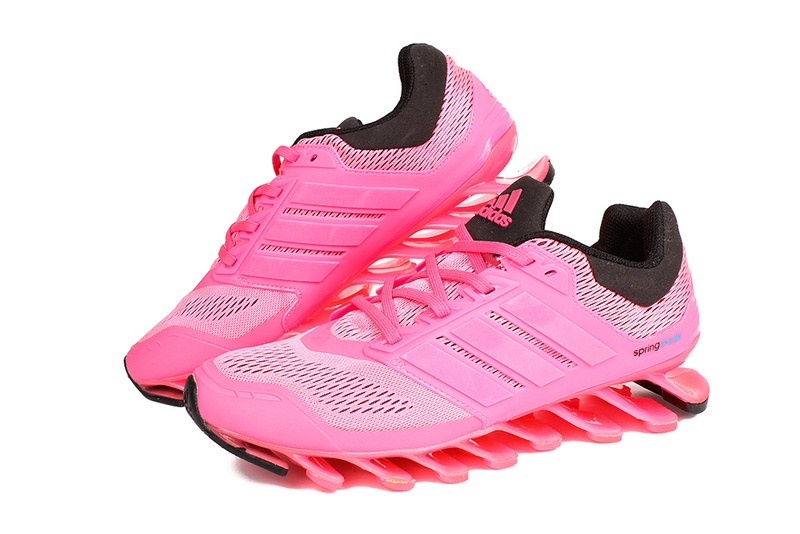 Men's/Women's Adidas Springblade 3.0 Running Shoes Pink/Blue