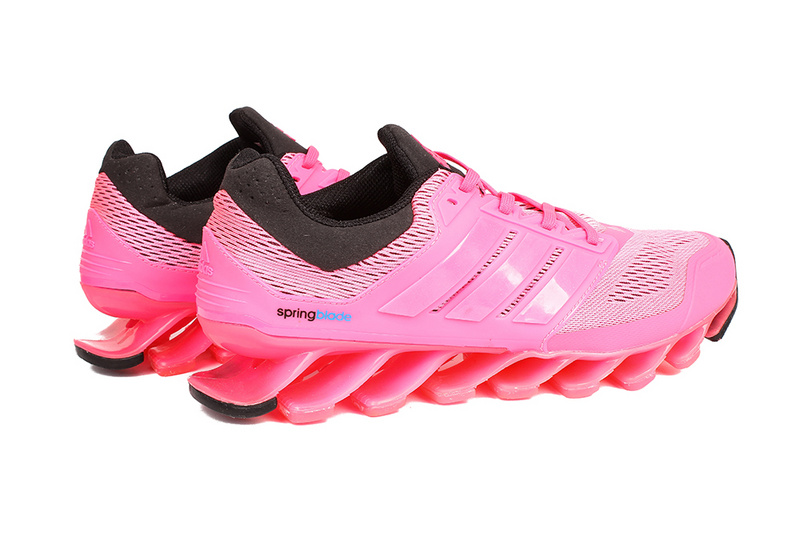 Men\'s/Women\'s Adidas Springblade 3.0 Running Shoes Pink/Blue