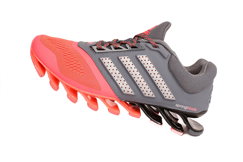 Men's/Women's Adidas Springblade 4 Running Shoes Grey/Pink