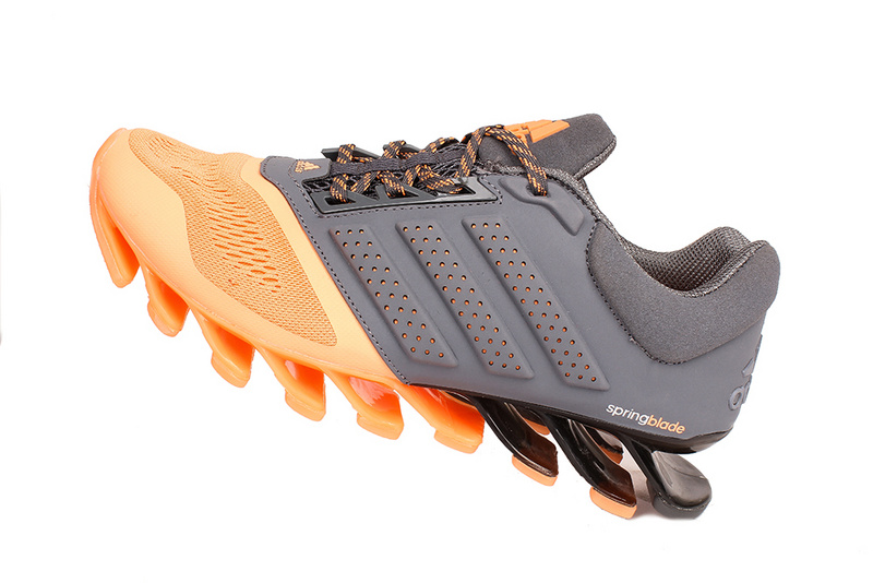Men's/Women's Adidas Springblade 4 Running Shoes Light Orange/Grey