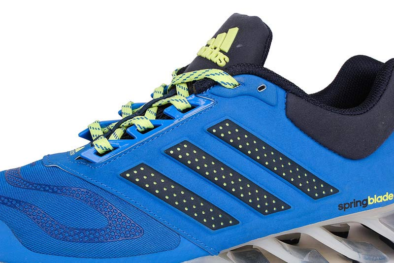 Men\'s Adidas Springblade 5 Running Shoes Blue/Yellow