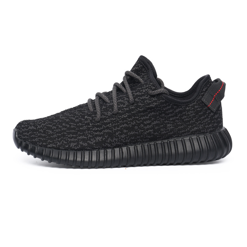 "2016 New Release Men's/Women's Adidas Yeezy Boost 350 ""Pirate Black"" Shoes Pirate Black AQ2659"