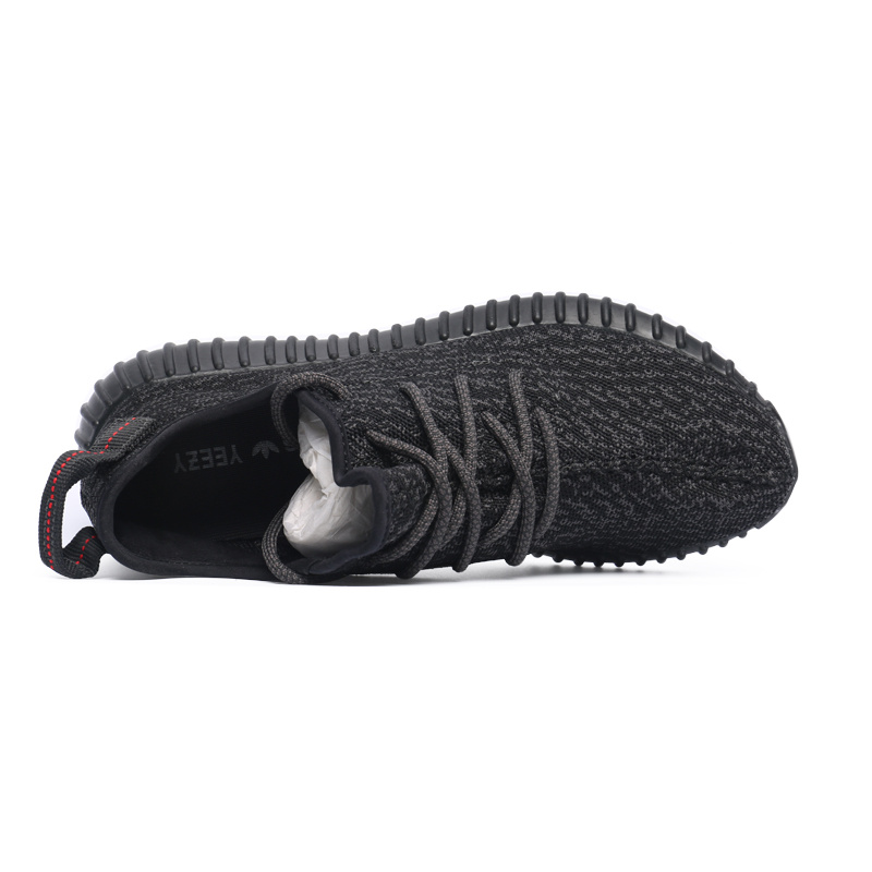 "2016 New Release Men\'s/Women\'s Adidas Yeezy Boost 350 ""Pirate Black\"" Shoes Pirate Black AQ2659"