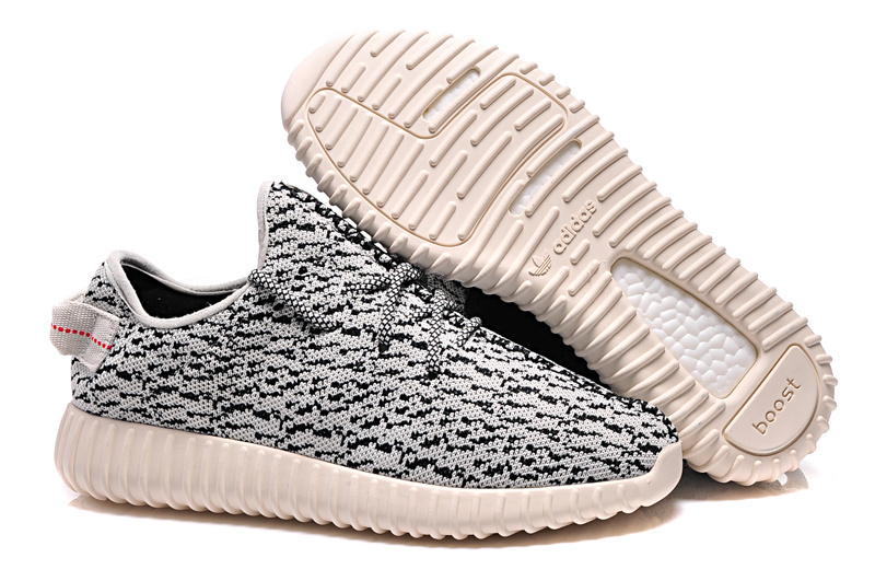 Men's Adidas Yeezy Boost 350 Shoes Grey/Beige B35305