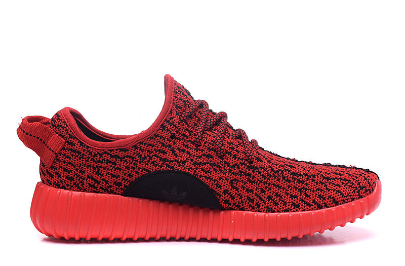 Men's/Women's Adidas Yeezy Boost 350 Shoes Solar Red