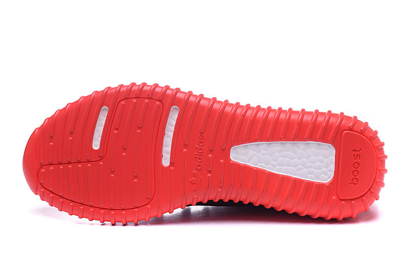 Men\'s/Women\'s Adidas Yeezy Boost 350 Shoes Solar Red