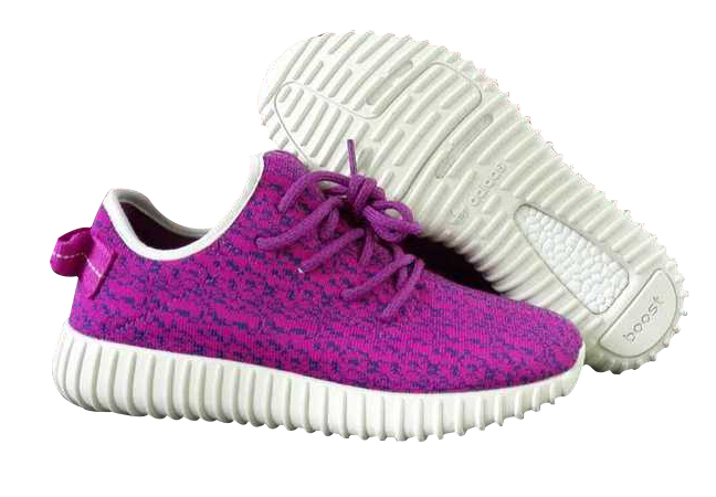 Women's Adidas Yeezy Boost 350 Shoes Rose Purple