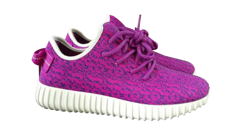 Women\'s Adidas Yeezy Boost 350 Shoes Rose Purple