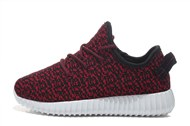 Men\'s/Women\'s Adidas Yeezy Boost 350 Shoes Wine Red Black