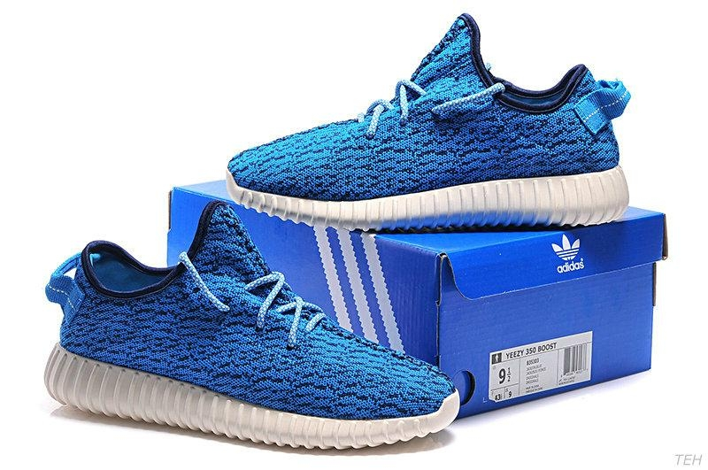 5a388c780 Men s Women s Adidas Yeezy Boost 350 Shoes Blue B35303  Adidas2016 ...