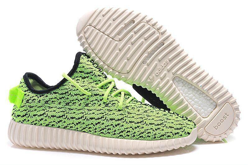 Men\\\u0027s/Women\\\u0027s Adidas Yeezy Boost 350 Shoes Green Black