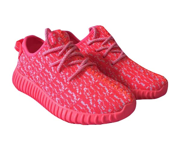 Women\'s Adidas Yeezy Boost 350 Shoes Fluorescent Pink