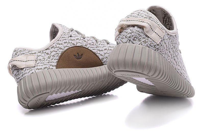 "Men\'s Adidas Yeezy Boost 350 ""MoonRock\"" Shoes Off-white/Grey"