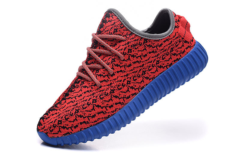Women\'s Adidas Yeezy Boost 350 Shoes Red/Blue