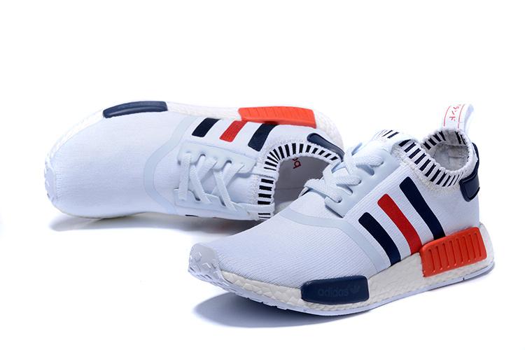 adidas nmd runner white black