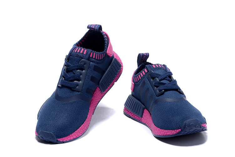 Adidas NMD Runner women shoes blue red [adidasnmdwomens1