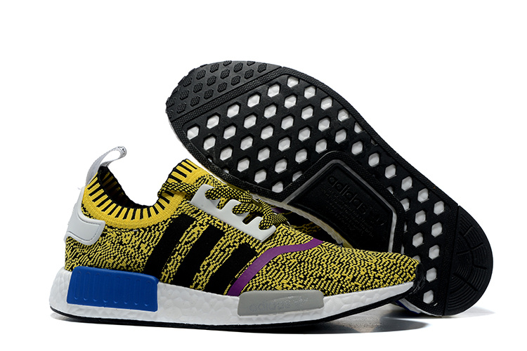 Adidas NMD Runner PK men women Yellow Black