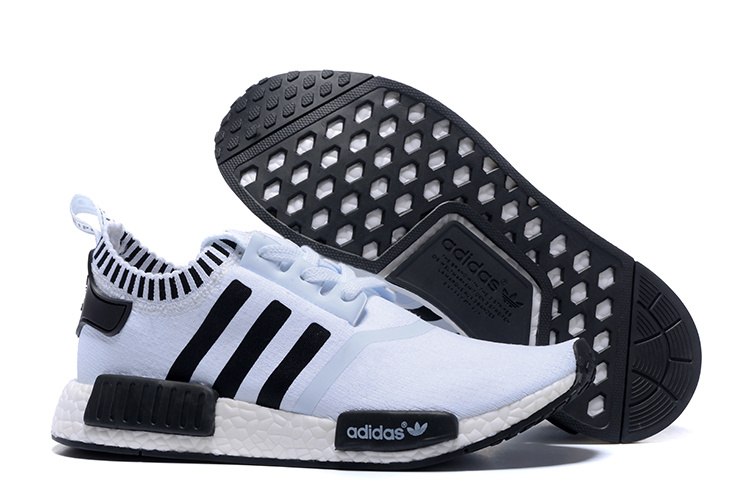 Adidas NMD Runner White Black men women