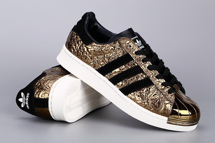 Mens Adidas SUPERSTAR METAL Golden