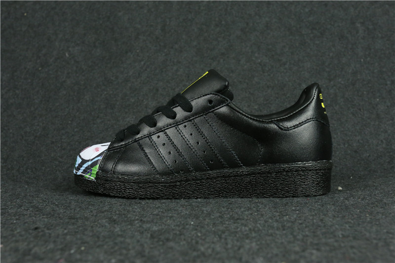 Womes Adidas Superstar 80s Metal Toe Black