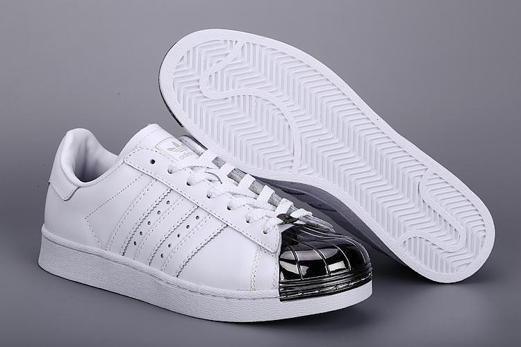 Womes Adidas SUPERSTAR METAL White