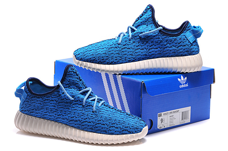 Mens Adidas Yeezy Boost 350 Low Kanye West Blue