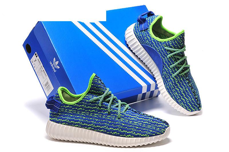 1b153cd68c62 Mens Adidas Yeezy Boost 350 Low Kanye West Blue Green ...