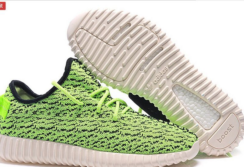 7cd720df8fe9 ... Mens Adidas Yeezy Boost 350 Low Kanye West Green ...