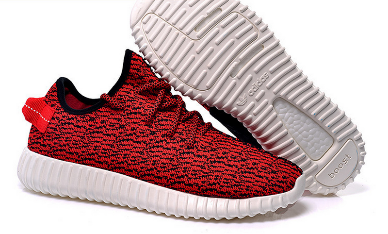 Mens Adidas Yeezy Boost 350 Low Kanye West Red