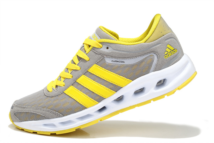 adidas Performance Men's Galaxy Elite Running Shoe Gray/Yellow